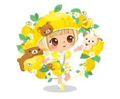 Line Play honey #Rilakkuma (⌒▽⌒)