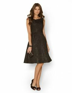 Monsoon Womens Jaya Jacquard Prom Dress