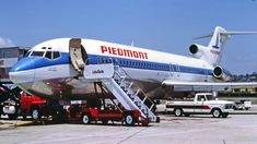 Aviation images for commercial use Boeing Planes, Boeing Aircraft, Passenger Aircraft, Commercial Plane, Commercial Aircraft, Piedmont Airlines, Boeing 727 200, Us Airways, Best Airlines