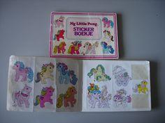 stickerboekjes, héél veel stickerboekjes en ze allemaal bewaren en nooit gebruiken.. en weggegooid op je 16e.. nu waren ze knap vintage geweest!