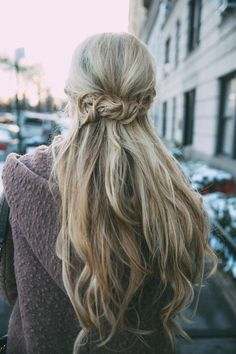long blonde natural weave hair