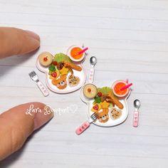 2017.12 Miniature Food ♡ ♡ By larabouquet