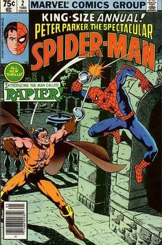 The Spectacular Spider-Man Annual vol 1 #2 ft. Rapier