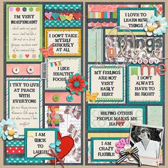Sweet Shoppe Designs :: 1 Page Layout Templates :: Cindy's Layered Templates - Builders by Cindy Schneider Scrapbook Patterns, Scrapbook Designs, Scrapbook Page Layouts, Project Life Scrapbook, Project Life Layouts, Scrapbook Paper Crafts, Scrapbook Cards, Bullet Journal Books, New Things To Learn