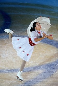 SHANGHAI, CHINA - NOVEMBER 04:  Ladies gold medalist Mao Asada of Japan performs during Cup of China ISU Grand Prix of Figure Skating 2012 at the Oriental Sports Center on November 4, 2012 in Shanghai, China.