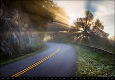Blue Ridge Parkway NC - Road to Glory | by Dave Allen Photography