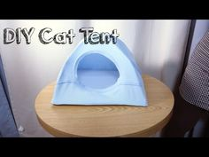 DIY Cat Tent - YouTube