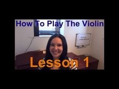 ▶ 'OFFICIAL' How to Play the VIOLIN - Lesson 1 - How to hold the violin & bow correctly - YouTube