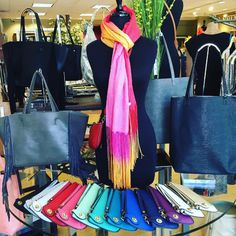 Aren't these Joy Susan by Joy Accessories Inc mini purses the BEST? Wear it as a cross body or wristlet and take it everywhere. Our favorite part is the locking closure! Stop in today and pick one up in every color! #notice #Andersonville #aville #shoplocal #joysusan #clutch #purse #toomanycolors #shopsmall #barringtonil #bestbags #needmorethanone #evanston