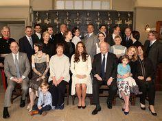 """Kate Middleton en visite sur le tournage de """"Downton Abbey"""""""