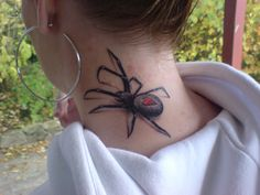 30 Awesome Spider Tattoo Designs | Cuded