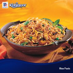 Did you know? Brown rice can help lower cholesterol and reduce the risk of heart disease.