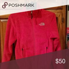 Pink north face Good condition. Child's xl women's xs. The North Face Jackets & Coats