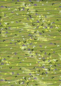 Japanese Yuzen Chiyogami Washi Paper Butterfly