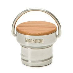 Klean Kanteen Bambus Deckel passend für alle Classic Flaschen