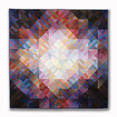 Interweave 2 1982 - Michael James Studio Quilts Selected work 1975 - 1984…