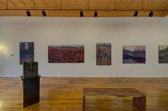 NinaWeiss/Prairies.  Great River Road Museum of Contemporary Art.  Potosi, Wisconsin.