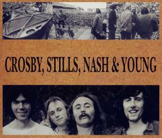 """Crosby, Stills, Nash & Young- Teach Your Children"" #CMmusiclovers"