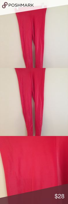Blackmilk Clothing Red Wet Look Leggings M Blackmilk Clothing wet look leggings with a twist...they're red! Totally awesome and really cool M!  85% Nylon 15% Elastane  Hand Wash Only Blackmilk Pants Leggings