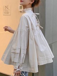 Damenoberteile - comingdress Source by Fashion Details, Look Fashion, Hijab Fashion, Fashion Dresses, Womens Fashion, Fashion Design, Looks Style, My Style, Moda Pop