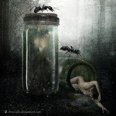 PRESERVED..chryssalis.deviantart.com/art/PRESERVED-524442834 on @Deviantart Preserve me in formaldehyde, in the quiet sanctity of a jar,