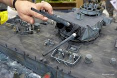 By Editor - The fabulous naval diorama of Operation Ten-Go (the last sortie of the Battleship Yamato) by @anthonyp Anthony Polychroniadis reminded me of anoter naval diorama seen in Telford last year which commemorated a moment from the same battle and only days apart from the sinking of the Japanese battleship. Created by René Hieronymous from Austria, this…...