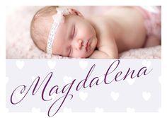 Geburtsanzeige von www.babykartenshop.ch