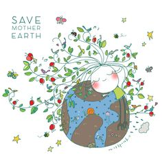 Save the Earth bu misspink. www.misspink.es
