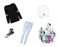 """""""Untitled #8"""" by albertenowak on Polyvore featuring Glamorous, Converse and Proenza Schouler"""