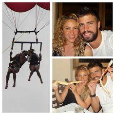 Shakira en vacances