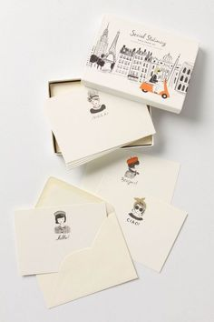 cute stationary cards