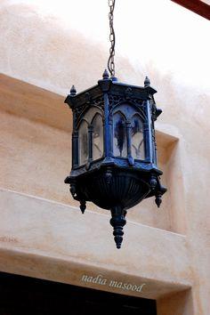 Gothic design lamp