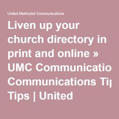 Is there a comprehensive church directory online?