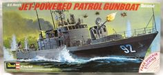 Revell 1/130 USS Tacoma Jet-Powered Patrol Gunboat (Asheville Class), H432 plastic model kit
