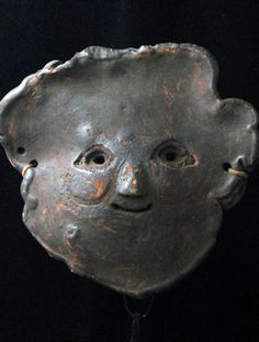 Himalayan Shamans Mushroom mask from Middle Hills, Nepal