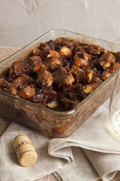 Chocolate Bread Pudding from Joy of Kosher