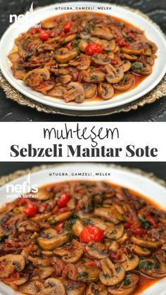 Mükemmel Sebzeli Mantar Sote – Nefis Yemek Tarifleri How to Make Perfect Vegetable Mushroom Saute Recipe? Illustrated explanation of this recipe in the book of people and photos of those who have tried here Author: Tuğba Gamzeli Melek Yummy Recipes, Spinach Recipes, Salmon Recipes, Easy Healthy Recipes, Easy Dinner Recipes, Gourmet Recipes, Beef Recipes, Yummy Food, Gourmet Appetizers