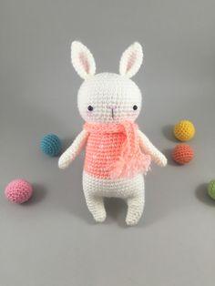 Crochet Bunny, Amigurumi Bunny, Amigurumi Kawaii Doll, Stuffed Bunny, Crochet Rabbit, Woodland Creature, Plush Animal, Softie Doll Animal by MossyMaze on Etsy https://www.etsy.com/listing/475657502/crochet-bunny-amigurumi-bunny-amigurumi