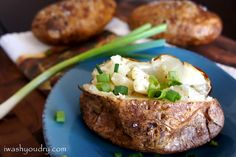 How to Bake the Perfect Outback Style Baked Potato