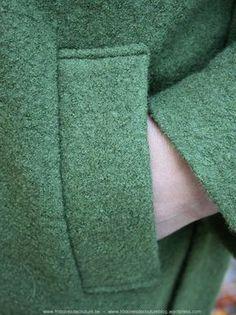 Histoires de Couture - Naaitechniek : Insteekzakken met zakstroken.
