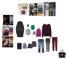 """Сет 7"" by pro04 on Polyvore featuring мода, Diane Von Furstenberg, J.Crew, Uniqlo, Haider Ackermann, The North Face, J Brand, Gap и 3.1 Phillip Lim"