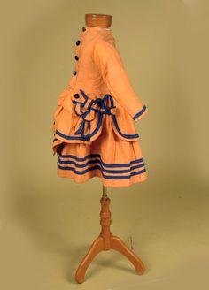 Children's dress, ca 1869