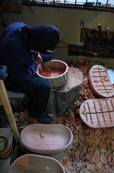 Las Doce Carved Wooden Bowls and Plates by The Andes House Photo