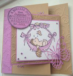 Christening Card Penny Black