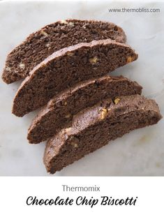 Thermomix Chocolate Chip Biscotti Recipe