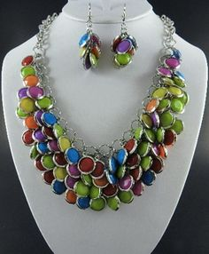 Multi Stones and Multi Colors Set: http://www.outbid.com/auctions/2266-come-if-you-dare-yesterday-s-jewelry-auction#27