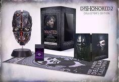 Edition Collector Dishonored 2 et bonus de précommande - Bethesda Softworks, une entreprise de ZeniMax Media, a annoncé aujourd'hui la date de sortie de Dishonored 2 Édition Collector, l'édition premium du jeu d'action à la première personne...