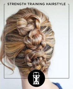 10 braided bun hairstyles that we simply couldn't resist. Updo Hairstyles Tutorials, Braided Bun Hairstyles, Workout Hairstyles, Step Hairstyle, Hairstyle Ideas, Hairstyles For Layered Hair, Pretty Hairstyles, Wedding Hairstyles, Fusion Hair