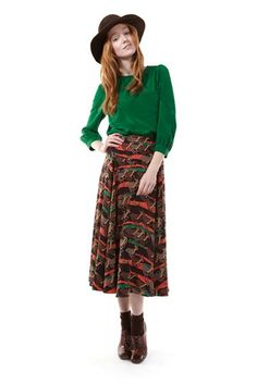 More bold colors and statement prints in luxurious safari-themes. Total seventies throwback. Marc by Marc Jacobs.