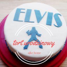 tort angielski urodzinowy Elvis Birthday Cake, Baking, Desserts, Food, Tailgate Desserts, Deserts, Birthday Cakes, Bakken, Essen